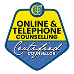 Certified online and telephone counselling